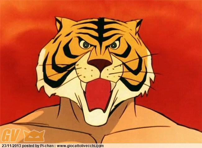 L`uomo tigre il campione un bel cartone anima
