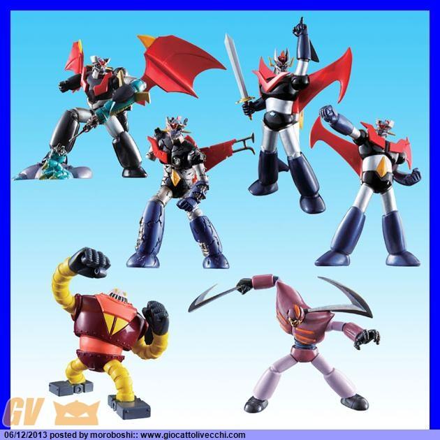 142131150236 Go Nagai Robot Collection Gazzetta Dello Sport