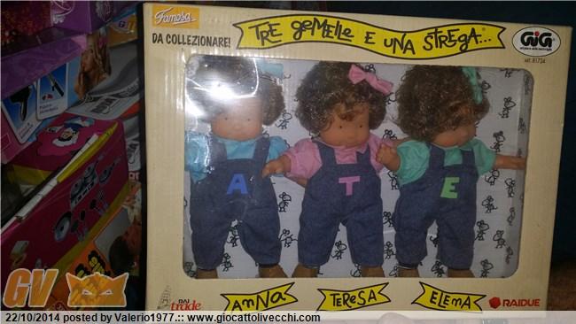 Valutazione gig bambole tre gemelle