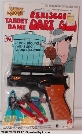 Ispettore gadget dubbio giocattolivecchi