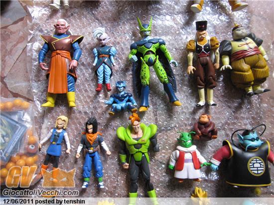 giocattoli di dragon ball personaggi