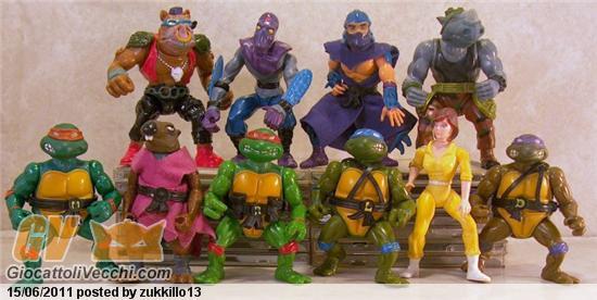 tartarughe ninja anni 90 giocattolo