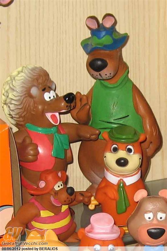 Napo orso capo hair bear bunch giocattoli realizzati