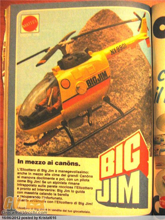 Elicottero Big Jim Anni 80 : Pubblicità giocattoli anni ` su topolino completi tf