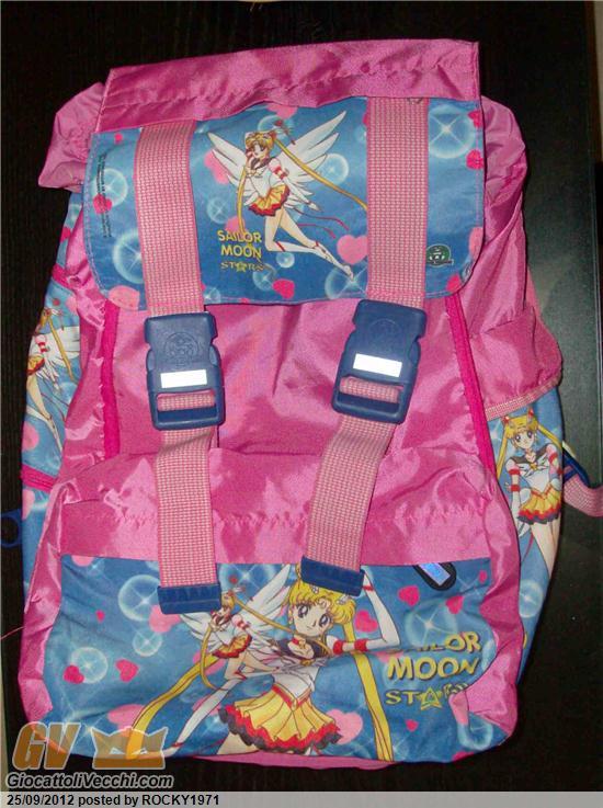 comprare popolare 55713 3a348 113891202 Valutazione Zaini Sailor Moon Giochi Preziosi Anni