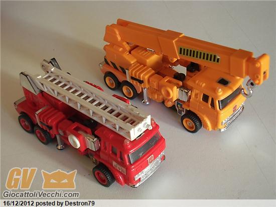 Collezione di destron giocattolivecchi