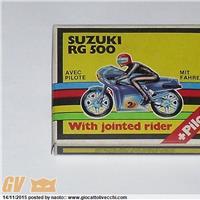 Grisoni Kit..Suzuki RG 500... con pilota..fondo magazzino..