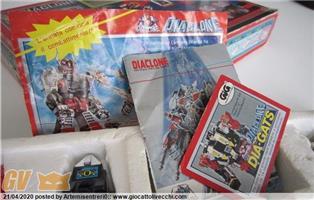 Cataloghini e istruzioni, cartaceo Diaclone trasformer e Transformers gig