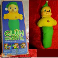 GLUH WICHTEL DOLL BAMBOLA Art.Nr.3001 Battery operated FUNZIONANTE  WORKING