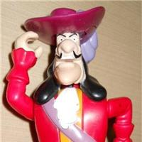 HOOK CAPITAN UNCINO ACTION FIGURE PETER PAN MC DONALD BURGY  SURPRISE GIFT REGALO