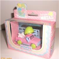 PLOUF ET PLUME 1985 Norev france - splendido set con macchina e accessori nuovo fondo magazzino stile Pin Y pon - Pupatic - Baby Candy