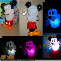 TOPOLINO MICHEY MOUSE CON LUCE VARI COLORI WALT DISNEY MICKEY MICKEY MOUSE WITH LIGHT VARIOUS COLORS WALT DISNEY