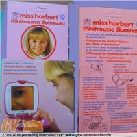 MISS HARBERT MINITROUSSE ILLUMINATA ART 830  MARCA BRAND HARBERT QUANDO LA APRI SI ILLUMINA WHEN YOU OPEN IT IT LIGHTS UP