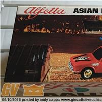 ALFETTA ASIAN HIGHWAY MOTOR RALLY