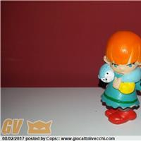 """PVC figure di Liulai dalla serie """" Mrs. Pepperpot """" - """" Lo strano mondo di Minù """" Maia Borges RARA e in ottime condizioni"""