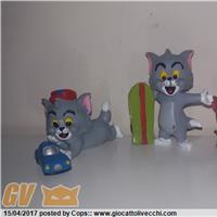Serie PVC figure Tom & Jerry Kids Hanna e Barbera della Comics Spain RARE