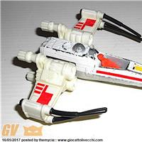 GUERRE STELLARI - STAR WARS 1978 KENNER HK X- WING LOOSE