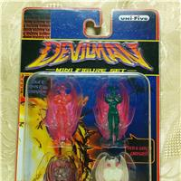 Devilman unifive mini figure set - 1998.