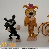 MARSUPILAMI - LOTTO PVC FIGURES