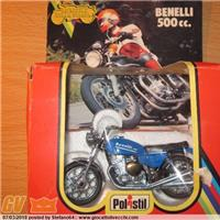 BENELLI 500 - 1978 1/24th POLISTIL DIECAST MODEL MOTORCYCLE