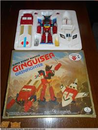 CEPPIRATTI GINGUISER GRENFIGHTER DX MIB