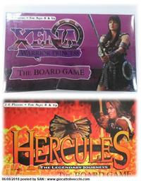 XENA WARRIOR PRINCESS + HERCULES THE LEGENDARY JOURNEYS