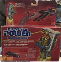 Captain Power Mattel Blastpak 1200