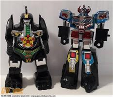 POWER RANGERS - MEGAZORD E DRAGONZORD