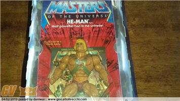 HE-MAN COMMEMORATIVE IN BOX ANCORA SIGILLATO MASTERS OF THE UNIVERSE