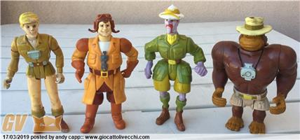 Filmation`s Ghostbusters Eddie - Jake - Grunt - Viscid