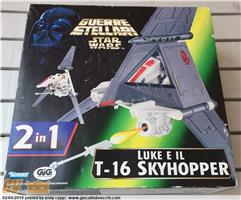 Star Wars - Luke e il T-16 Skyhopper