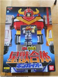 GINGAIO DX BANDAI GD-11 POWER RANGERS MEGAZORD - GINGAIOH DELUXE SET MINT IN BOX MADE IN JAPAN 1998