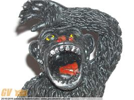KING KONG JIGGLER GORILLA VINTAGE RUBBER TOY MOSTRO GOMMA