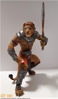 MUTANT WARRIORS FANTASY WORLD - LION MAN (PAPO 2007)