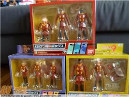 SET CYBORG 009 IN 3 SCATOLE BANDAI MINT IN BOX