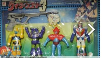 CLOVER - DAITARN 3 VINYL SET WITH ENEMIES