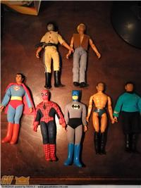 LOTTO ACTION FIGURE MEGO ANNI 70