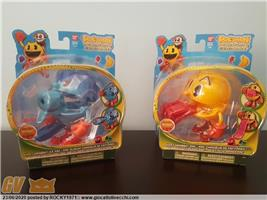PAC MAN AND THE GHOSTLY ADVENTURES BANDAI GHOST GRABBIN GHIACCIO RARE FIGURE