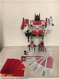 PENTAJET AERIABOT SUPERION TF GIG TAKARA HASBRO MADE IN MACAU