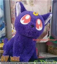 LUNA CAT PLUSH SAILOR MOON 1992