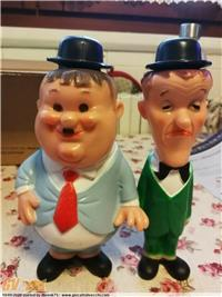 CRICH & CROCH LAUREL & HARDY STANLIO & OLLIO VINTAGE `60 DEAD STOCK. NEW.