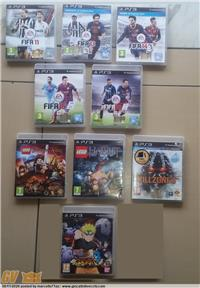 PLAYSTATION 3 PS3 LOTTO 9 GAME: FIFA 11-13-14-15-16 EA SPORTS LEGO IL SIGNORE ANELLI WARNER BROS GAME LEGO LO HOBBIT WARNER BROS GAME KILLZONE 3 S