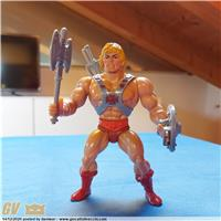 "HE-MAN TAIWAN 1981 12 BACK ""THE ORIGINAL"" VARIANTE RED BELT M.O.T.U."
