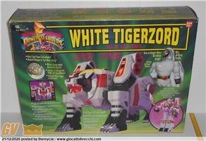 POWER RANGERS TIGERZORD DX BANDAI