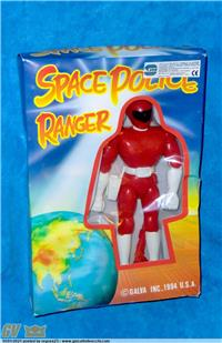 SPACE POLICE RANGER POWER RANGER JUMBO KNOCK OFF GALVA `90 #1