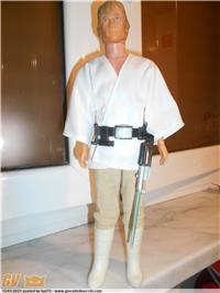 LUKE SKYWALKER LILI LEDY MEXICO RARISSIMO, CON ACCESSORI ORIGINALI ANNI`70 KENNER USA. RARISSIMO.