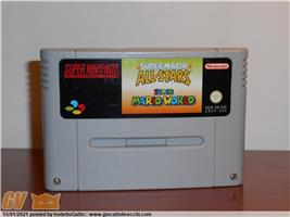SUPER MARIO ALL STARS MARIO WORLD SUPER NINTENDO SNES