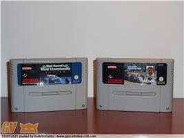 INDY CAR NIGEL MANSELL WORLD CHAMPIONSHIP RACING GIOCHI SUPER NINTENDO