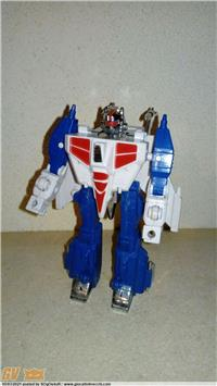 DOUBLE STRIGER STRATEGIC PLAN ROBOT 2 IN 1 LOOSE (TRANSFORMERS KO BOOTLEG TAROCCO)