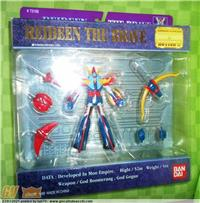 RAYDEEN SUPER ROBOT IN ACTION BANDAI 1999 MINT IN SEALED BOX !